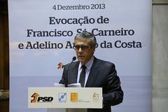 Evocação Francisco Sá Carneiro e Amaro da Costa