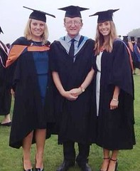 Maisie. Hannah and Tim September 2013. (Bridgemarker Tim) Tags: graduation professors doctors healthcare thehoe plymouthuniversity adultnursing tutorslecturers