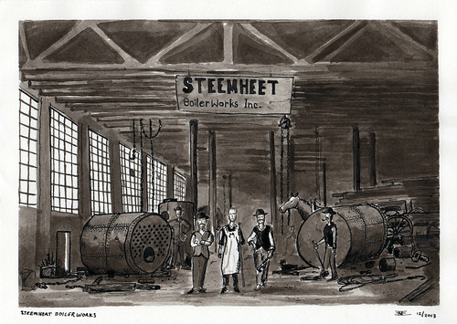 Basement Monsters: Steemheet Boiler Works