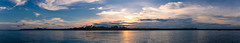 Trikora sunset (Chin Li Zhi) Tags: ocean sunset sea sky panorama sun holiday water beauty clouds sunrise spectacular colours tour pacific radiance tropical fujifilm sight bintan x100 x100s