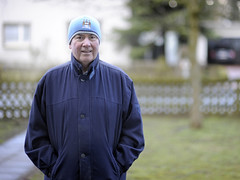 Richard (Crausby) Tags: city man male manchester fan supporter manchestercity mcfc oap mancity pensioner