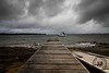 Rainy Day Jetty (James Griffiths Photography) Tags: canon landscape rainyday cloudy 7d tasmania tokina1117mm jamesgriffiths