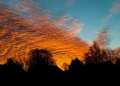 Sunrise Jan 4 2014 (Kaibakorg) Tags: sky colour clouds sunrise nikon f28 dx 1755 d300