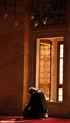 Pray (gLySuNfLoWeR) Tags: muslim islam faith pray istanbul mosque muslimah dua iman