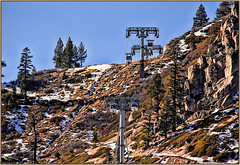 squaw valley 2 (dwight g) Tags: trees canon rocks tram sigma ps clear valley topaz squaw 50d 150500