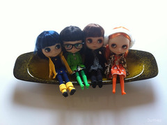 Coraline, Colette, Janne and Bo