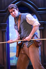 The Tales of Tangled (jodykatin) Tags: disneyland storytelling tangled facecharacter theroyaltheatre flynnrider
