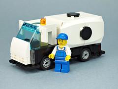 "Fuel Truck ""DOMINO"" (de-marco) Tags: car truck lego 5 wide domino fuel 5stud"