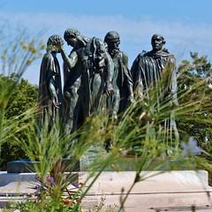 """Monument """"De zes burgers van Calais"""""""
