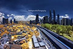 Kuala Lumpur Autumn Infrared (Nik Najmuddin Nik Ariff) Tags: autumn kualalumpur kl twintower kampungbaru kgbaru pkns akleh poknik flatkgbaru poknikphoto autumninfrared niknajmuddin pknsflat pknsflatkampungbaru