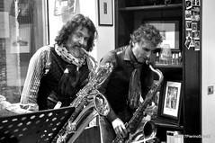N2122853 (pierino sacchi) Tags: kammerspiel brunocerutti feliceclemente igorpoletti improvvisata jazz letture libreriacardano musica sassofono sax stranoduo