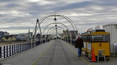 Southport Pier. (Eddie Crutchley) Tags: europe england lancashire southport outdoor coast pier seaside cloudysky