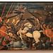 The Battle of San Romano by Paolo Uccello, Galleria degli Uffizi, Florence, Italy.