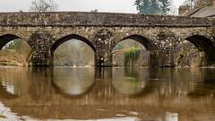 bridge (grahamrobb888) Tags: panasonic somerset dulverton dmctz60 bridge river reflection water stonedecoration