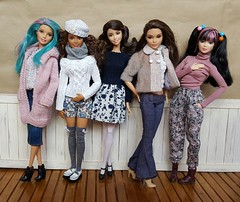Back to winter again??? (amartpas) Tags: barbie karine clearlan lea curvy dynamitegirls neysha skipper wizardsofwaverlyplace alexrusso crazyforcoral springintostyle benetton osaka mermaid candymermaid fashionistas evolution petite