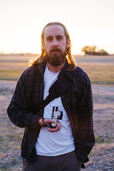 Brian (BurlapZack) Tags: pentaxk1 helios44m58mmf2 helios vscofilm pack01 m42 dentontx northlakespark dronedaze sundayfunday weekendwarriors photographer portrait bokeh dof backlight gold magichour sunset dusk evening field staygoldponyboy yallboyz beard fuji fujifilm