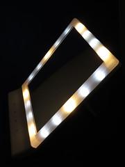 HONESTEAST LEDミラー スタンド/壁掛け USB/電池 (zeta.masa) Tags: amazon amazoncojp レビュー レビュー記事 商品レビュー サンプル サンプル品 sample ミラー mirror 鏡 led usb usbpower usbケーブル honesteast ledstaring