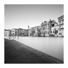 Grandezza #3 (Noel Clegg) Tags: venice grand canal rialto black white mono monochrome venezia le long expsoure architecture noel clegg gradients