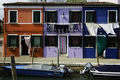 Burano (julienreininger) Tags: burano italie triptyque