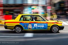 City-Life-2058 (BilderMaennchen) Tags: shinjukuku tōkyōto japan jp bildermaennchen nikon d4s tokyo taxi panning
