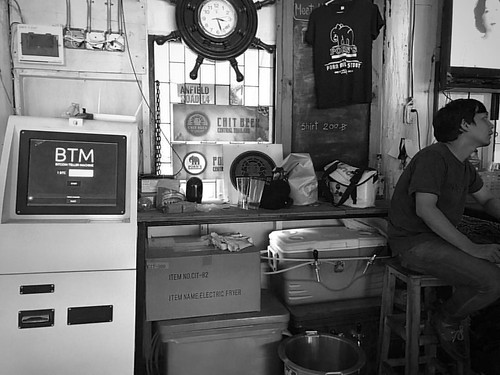 #bitcoins and beer! Of all places to find one in Koh kret. #blackandwhite #streetphotography #picoftheday #bnw_planet