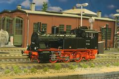 DRG BR 89 066 - Brawa (Stig Baumeyer) Tags: h0 187 scalah0 scala187 h0scale h0skala echelleh0 echelle187 modelljernbane modelljärnväg modelleisenbahn ferromodellismo modelrailway diorama h0layout steamlocomotive ånglok dampflokomotive damplok damplokomotiv drg deutschereichsbahn br89 baureihe89 drgbr89 preussischet8 preusischet8 brawah0 brawa187 brawa