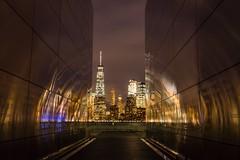 Empty Sky Memorial (bhumin_desai_303) Tags: rokinon24mm a6300 sonyalpha freedomtower 911memorial newjersey libertystatepark