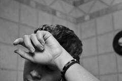 Solitary (brinksphotos) Tags: depression portrait selfportrait nikond3100 blackandwhite bath thinking relaxing spa
