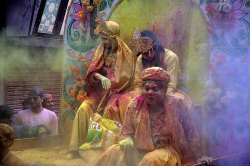Holi procession