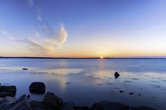Early Start (joegeraci364) Tags: beach blue calm coast exposure image landscape long morning nature nautical ocean peace photography print rock scenic serene shore sky sunrise water