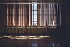 alma.mater (jonathancastellino) Tags: architecture abandoned derelict decay ruin ruins school class room crib gentle blind blinds light sky cast leica q radiator floor education almamater nurturingmother toronto ngc