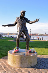 Billy Fury: MUSIC Monuments, Liverpool (Jungle Jack Movements) Tags: john lennon billy fury albert dock liverpool england united kingdom great britain uk gb british legend rock roll music ballad rory storm beatles hunrricanes pop 1960s chart topper best statue monument memorial all time greats legends