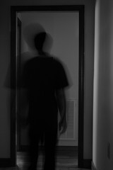 IMG_1272 (e08avenger) Tags: ghost black white photographs spooky fake horror haunted haunting staged motion blur