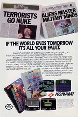 If the World Ends Tomorrow, It's All Your Fault (justinporterstephens) Tags: videogames retrogames vintageads nintendo nes