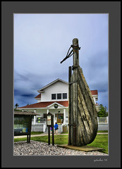 Rudder at Whitefish Point (the Gallopping Geezer '4.5' million + views....) Tags: lighthouse light warning caution boating boat ship historic old whitefishpoint mi michigan upperpeninsula up roadtrip park display water lake lakesuperior greatlake greatlakes canon 5d3 tamron 28300 geezer 2016