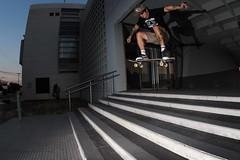 half cab (AgustínCarrillo) Tags: skate skateboard skateboarding streets skatephotograpy halfcab stevecaballero staris strobist moment action joacodiaz rawson playaunion chubut trelew argentinapatagonia skateargento argentopatagonia surstreetsstrobist canon60d