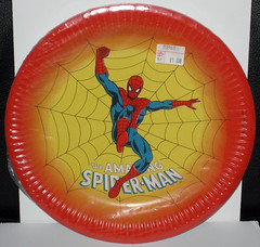 Reed 1978 Spider-Man Party Plates (WishItWas1984) Tags: spiderman party supplies kids children birthday vintage retro plate table cover cloth centerpiece napkins 1978 1979 1970s 70s 1980s 80s reed