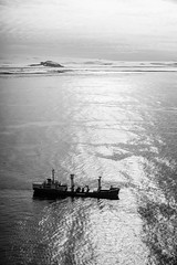 The Italica (JeffAmantea) Tags: italica ship supply water ocean sea boat mario zucchelli station antarctica antarctic portrait landscape black white mountain ice sony alpha sonyalpha a7ii nikkor 50mm 14 metabones