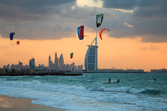 Dubai kite beach (Shyjith Kannur Photography) Tags: beach landscape kitebeach jumeirah evening sunset fun weekend