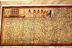 Hieroglyphics on papyrus (annalisabianchetti) Tags: hieroglyphics papyrus egyptian egypt egitto art history ancient scrittura culture