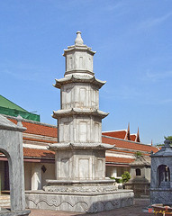 Wat Ratcha Orasaram Chinese Style Pagoda (DTHB0431)