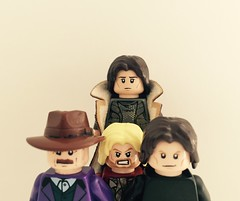 """""""So, so you think you can tell? Heaven from hell?"""" (jackhamilton4) Tags: darksideofthemoon wishyouwerehere music band pinkfloyd lego"""