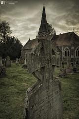 In Loving Memory (technodean2000) Tags: in loving memory church yard grave stone uk