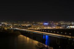 Нижний Новгород ночью (alexeybahmetyev) Tags: russia river ponte nikon d3300 nature nice nizhny novgorod night notte nero bellissimo view vista trevel trip citta city bridge black