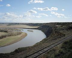 (patrick.warner) Tags: mamiya 7 film portra 400 fort benton montana missouri river