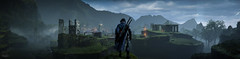 Middle Earth: Shadow of Mordor / The Lonely Musketeer (Stefans02) Tags: middle earth shadow of mordor lord the rings brothers monolith screenshotart mountains beauty digital game landscape nature outdoor fighting screenshot art warner games screenshots hotsampled hotsampling image beautiful 4k atmosphere enveironment character 3 musketeers downsampling downsampled enveironments air clouds uruk mist panorama panoramic