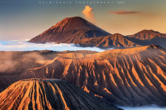 Morning Light at Mount Bromo (©Helminadia Ranford) Tags: mountbromo bromo tengger semeru landscape volcano volcanic travel nature asia indonesia java