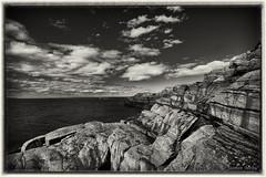 Fjøløy landscape B&W (1 of 1) (©Jasmin Mehic) Tags: fjøløy lighthouse blackandwhite black white sea seascape landscape rogaland rocks norway jasminmehic