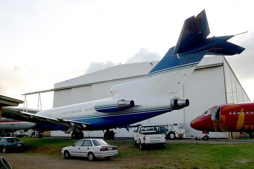 J2-KBA Boeing 727-191 Djibouti Republique