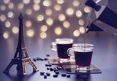 My dream comes true.. (Hanna Tor) Tags: closeup stilllife coffee table indoor bokeh hannator lyrics paris song